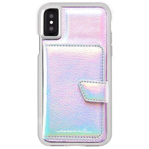 CASE-MATE COMPACT MIRROR IPHONE X - IRIDESCENT