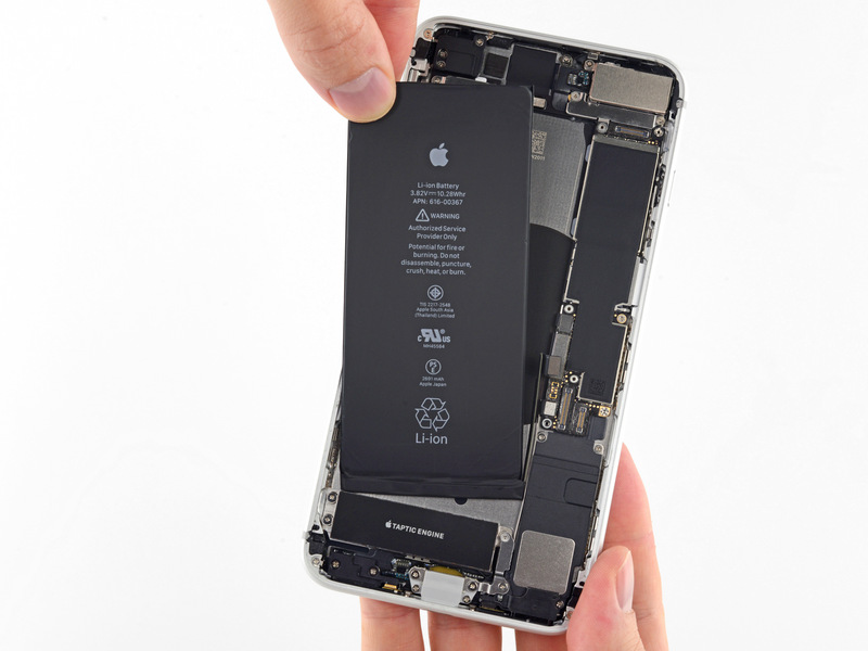 Picture of IPHONE 8 plus BATTERY REPLACEMENT